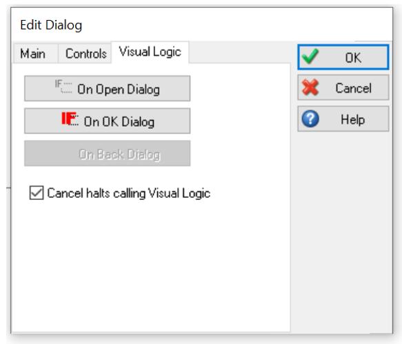 Simul8 Dialogs Visual Logic
