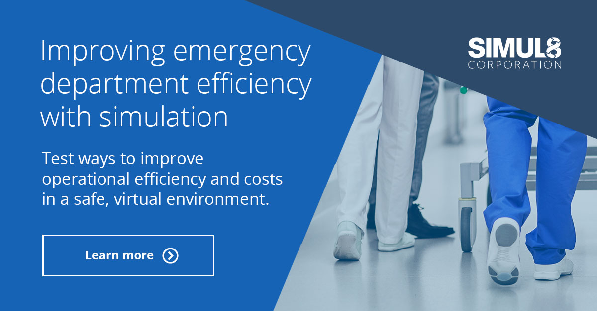 Improve Emergency Department Efficiency with Simulation | SIMUL8