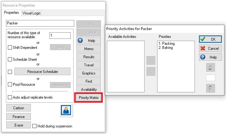 Packer Priority