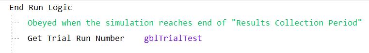 Get Trial Run Number