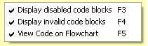 Visual Logic Flow Options