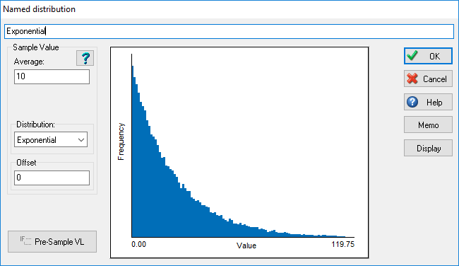 Exponential Distribution [SIMUL8 Resource Center]