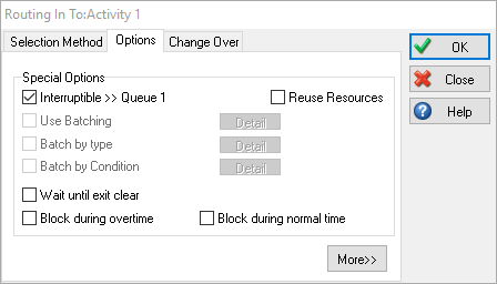 Routing In Interruptible Option Dialog Example
