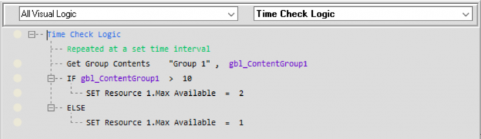 Time Check VL for Group Content