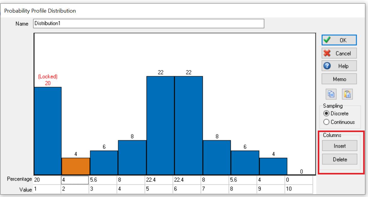 Simul8 Probability Profile Insert Delete