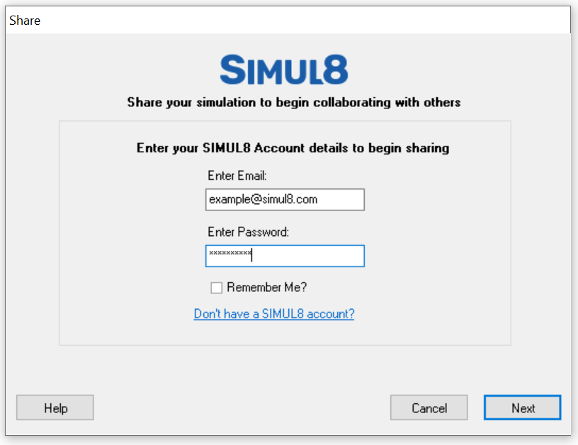 Simul8 Share2