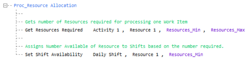 Simul8 Get Resources Required VL