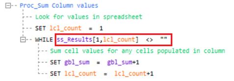 VL Syntax empty