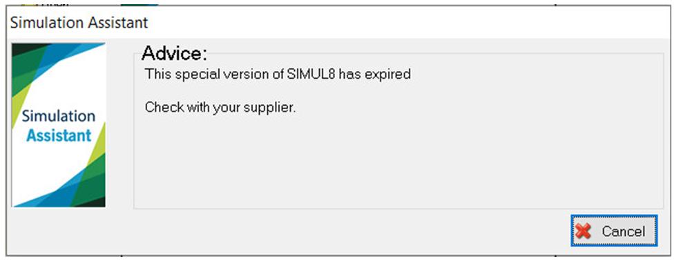 Simul8 Edu expired