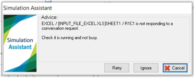 Simul8 Excel Comm type 2